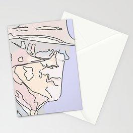 Strip-man Stationery Cards