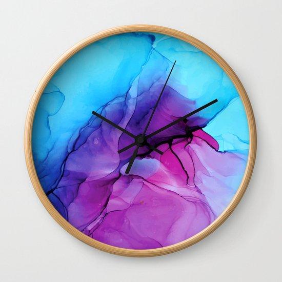Aqua Pop - Alcohol Ink Painting by elizabethschulz