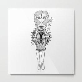 Zeta love Metal Print