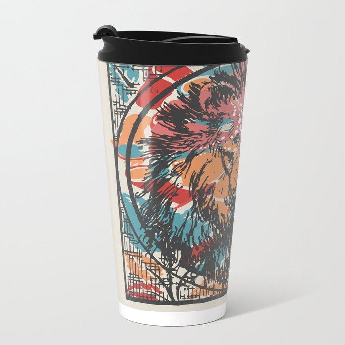 Leo Metal Travel Mug