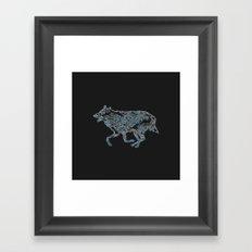 Re_wolf Framed Art Print