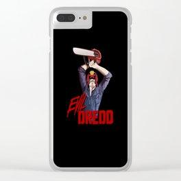 Evil Dredd Clear iPhone Case