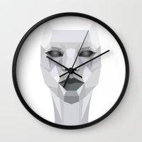 persona Wall Clocks featuring Persona Planes by Joyewole