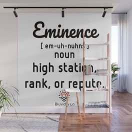 Eminence defined bluvidly Wall Mural