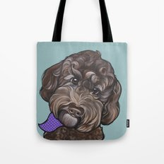 Maddie the Doodle Tote Bag