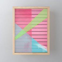 Color Blast Framed Mini Art Print