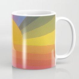 Rainbow Love 2 and sun Coffee Mug