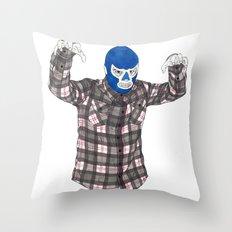 Lumberjack Jack Throw Pillow