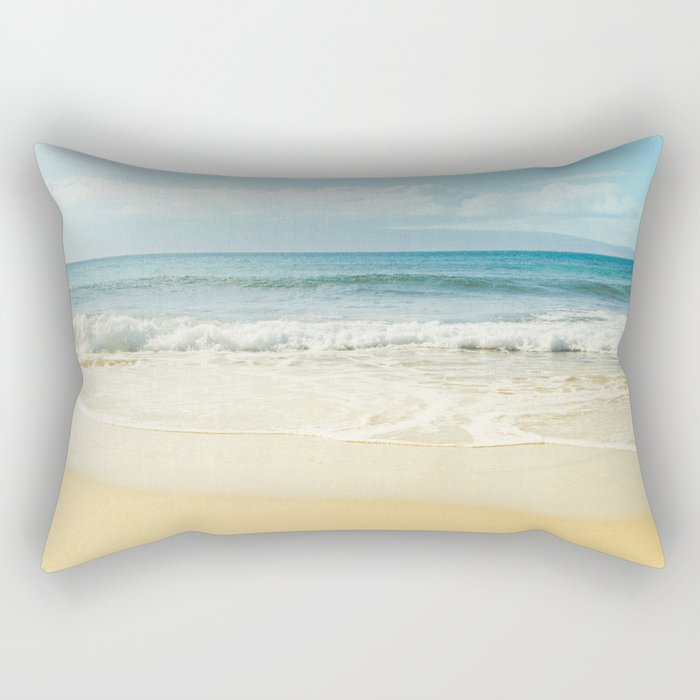 The Voices of the Sea Rectangular Pillow