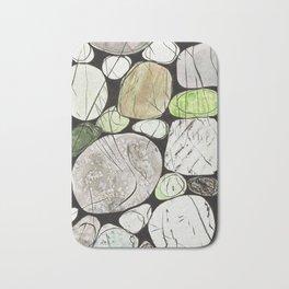 Classical Stones Pattern in High Format Bath Mat