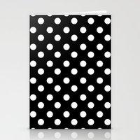 polka Stationery Cards featuring POLKA by Monica Curugiu