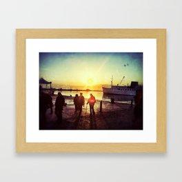 Hafen Framed Art Print