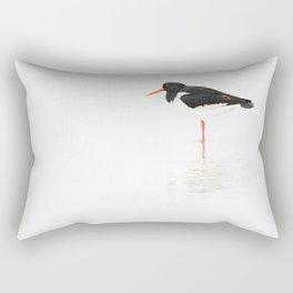 scholeksters scholekster high key oystercatcher  Rectangular Pillow