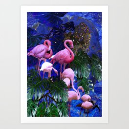 Pink Beauty Art Print