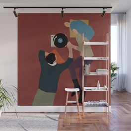 Music nights with you Wall Mural