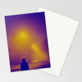 nocturnal lullabies Stationery Cards