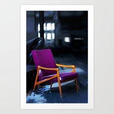 Royal chair Art Print