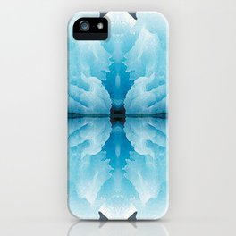 Icy Reflection iPhone Case