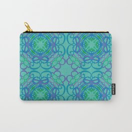 Gender Equality Tiled - Blue Green Carry-All Pouch