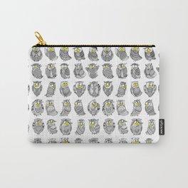 Sleepy Owls Carry-All Pouch