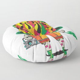 the big daddy Floor Pillow