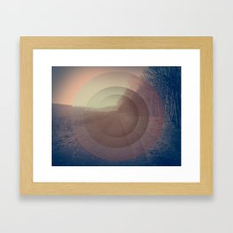 When everything fades Framed Art Print
