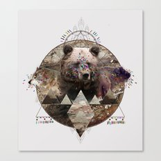 ANIMAL ECHOES Canvas Print