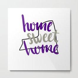Home Sweet Home New York Metal Print