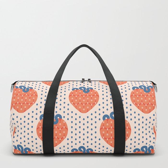 Strawberry Duffle Bag