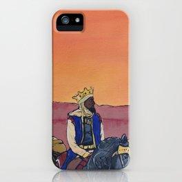 KINGS BEFORE SLAVES iPhone Case