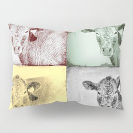 Here's Looking at Moo Pillow Sham