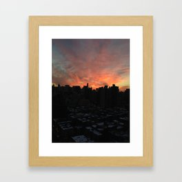 nyc, you're gorgeous Framed Art Print