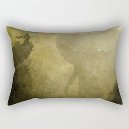 Elephant Caller Rectangular Pillow