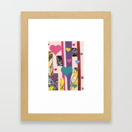 More Hearts Framed Art Print