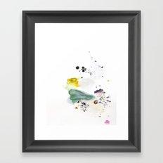 Multi-Silver Lining Framed Art Print