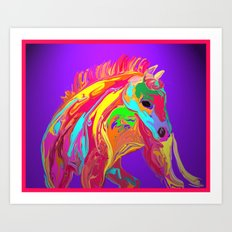 Picacho Pete Art Print