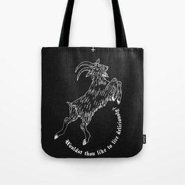 The Witch - Black Phillip Tote Bag
