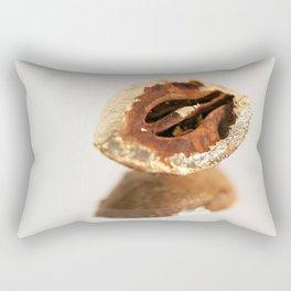 Gold Tree Nut Rectangular Pillow