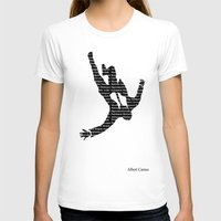 camus T-shirts featuring camus by Taylor Free