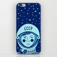 valentina iPhone & iPod Skins featuring Valentina Tereshkova by Emma Falconer