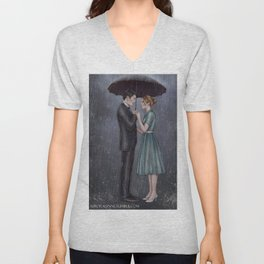 CalJean - What If It Rains Unisex V-Neck