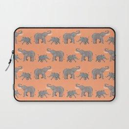 Cheerful Elephants Laptop Sleeve