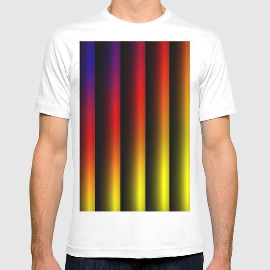 Colour beams T-shirt