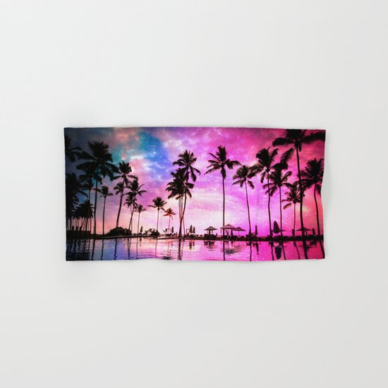 Neon Sunset Hand & Bath Towel