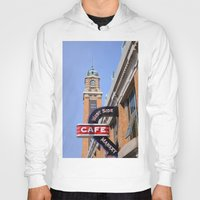 cleveland Hoodies featuring Cleveland West Side Market by TiffanyOneillPhotography
