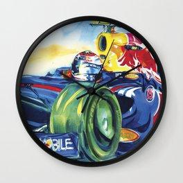 Formula One Series II Wall Clock