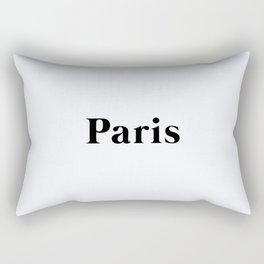 64. Paris Rectangular Pillow