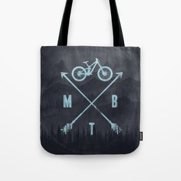 Downhill MTB Tote Bag