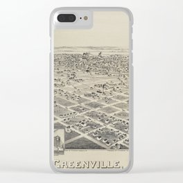Greenville 1891 Clear iPhone Case