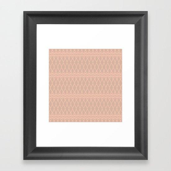 tribal pattern 4 Framed Art Print